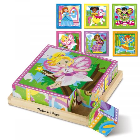 Princess and Fairies Cube Puzzle by Melissa & Doug®