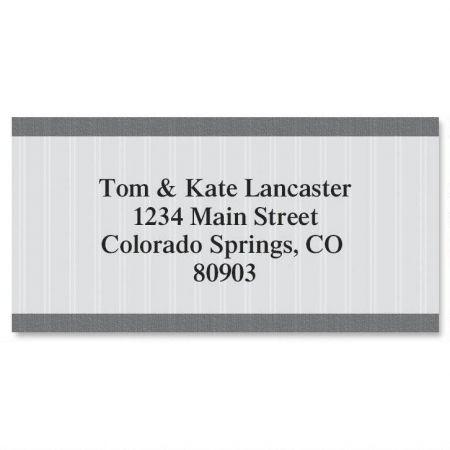 Pinstripe Border Address Labels