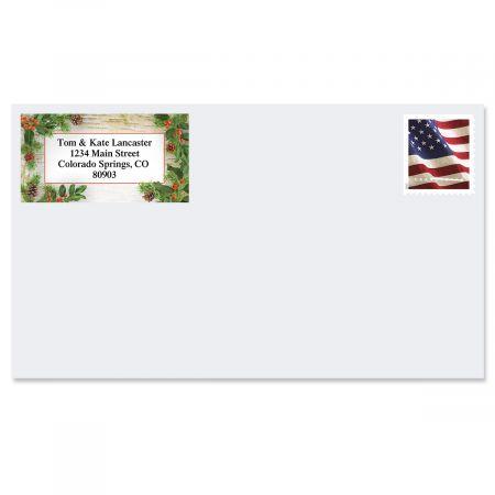 Woodland Whimsy Border Address Labels