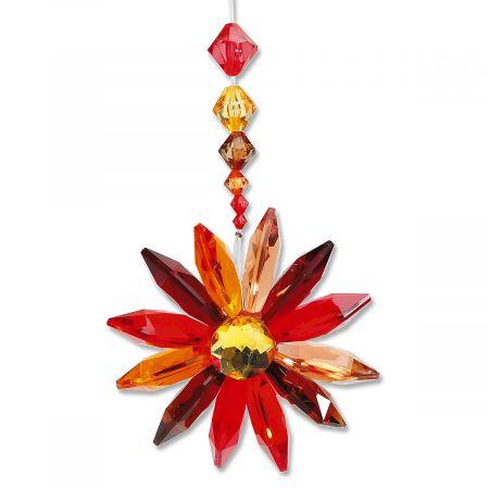 Autumn Floral Burst Ornament