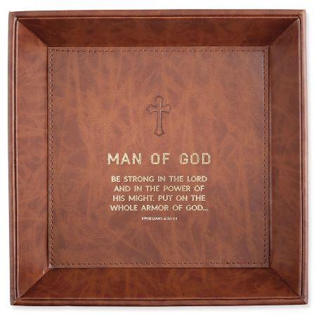 Man of God Tabletop Tray