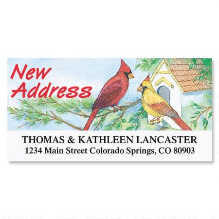 New Address Deluxe Address Labels