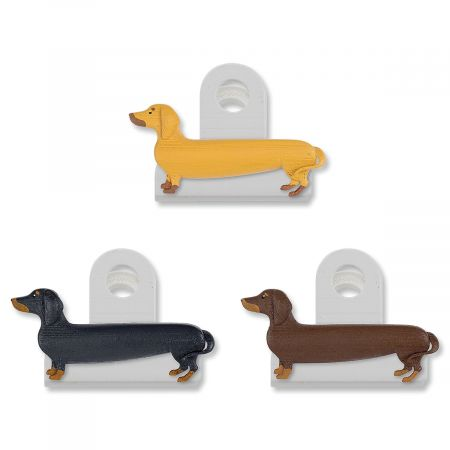 Dachshund Bag Clips