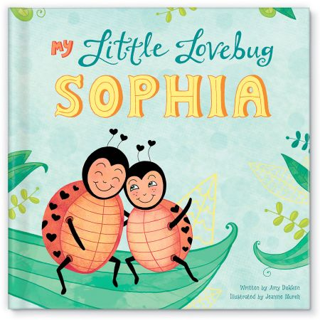 Personalized My Little Love Bug Children's Book