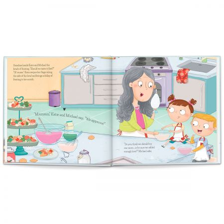 Baking Cookies Personalized StoryBook