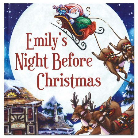 My Personalized Night Before Christmas Storybook