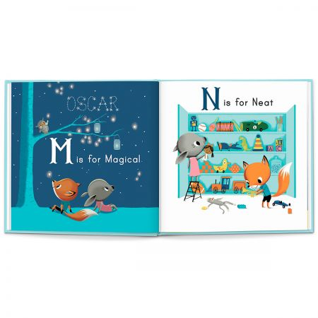 M Is For Me Children's Personalized StoryBook