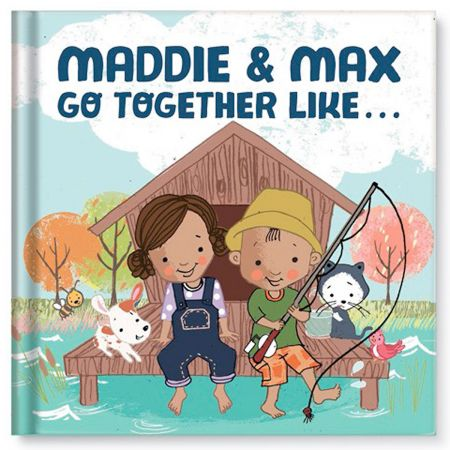 Personalized We Go Together Children's Book