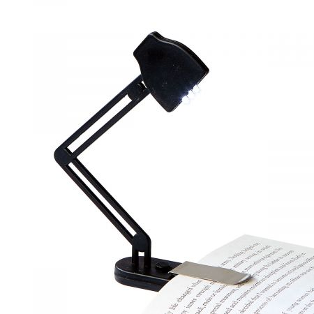 Slim Black Book Lamp