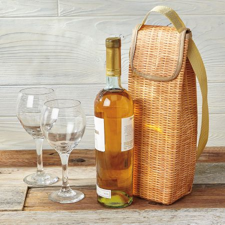 Wicker Wine Cooler