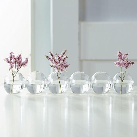 Connecting Mini Ball Vases