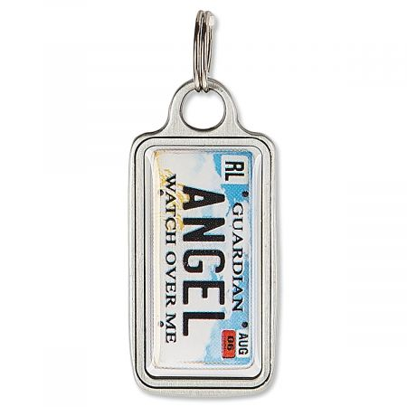 License Plate Charm - Angel