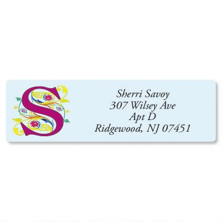 Regal Monogram Classic Address Labels