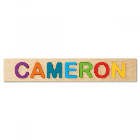 Wooden Personalized Name Puzzle
