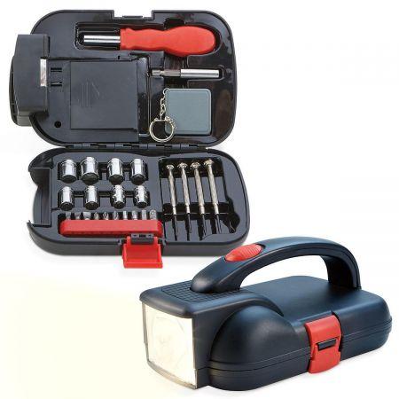 26-Piece Flashlight Tool Kit