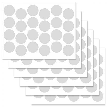 Fun Pattern Round Address Label  (3 designs)