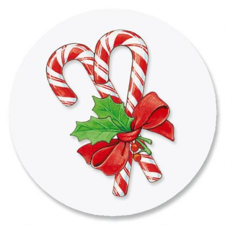 Peppermint Candies Envelope Sticker Seals