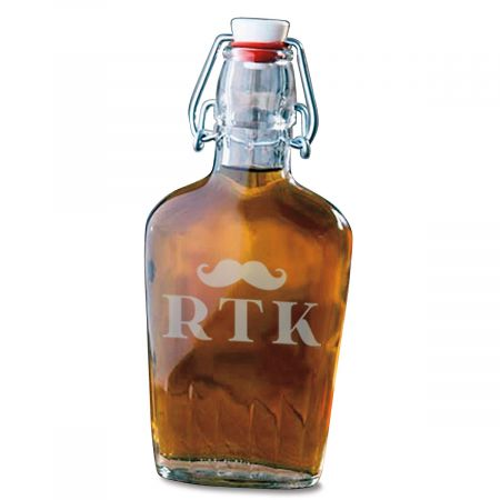 Mustache Personalized Flask