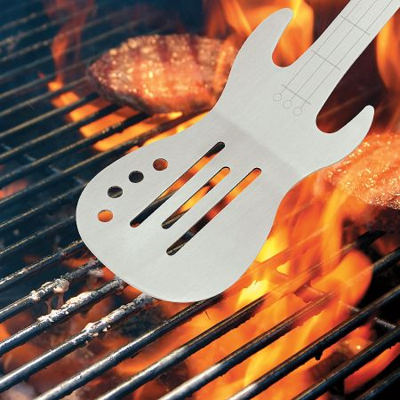 BBQ Rock Guitar Spatula