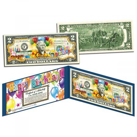 Happy Birthday 2 Dollar Bill