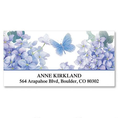 Lavender Beauty Deluxe Address Labels
