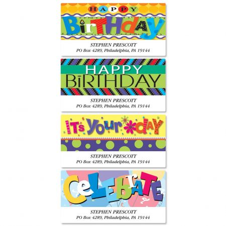 bold birthday deluxe address labels current catalog