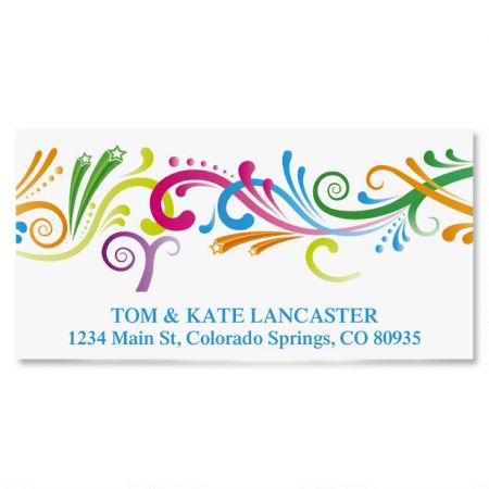Party Spirit Deluxe Address Labels