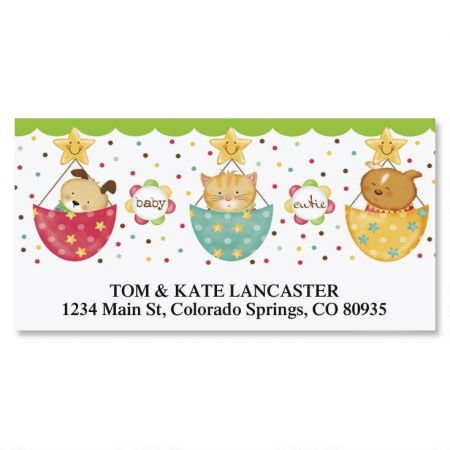 Baby Bundle Deluxe Address Labels