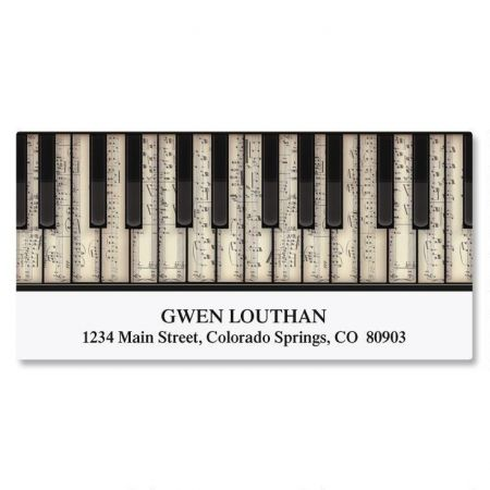 Keyboard Deluxe Address Labels