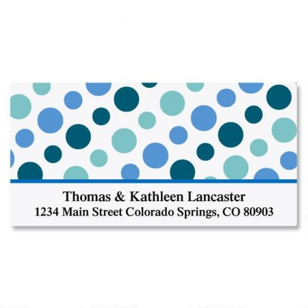 Zippy Dots Deluxe Address Labels