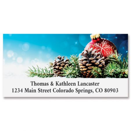 Pinecone Display Deluxe Address Labels