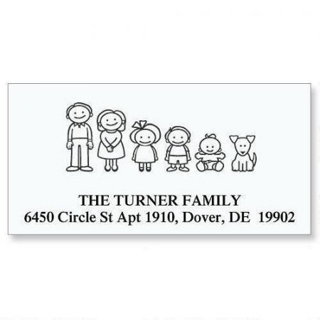 Our Family Deluxe Address Labels