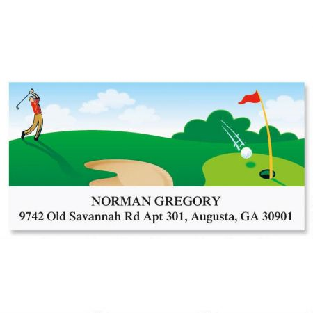Parfecto Golf Deluxe Address Labels
