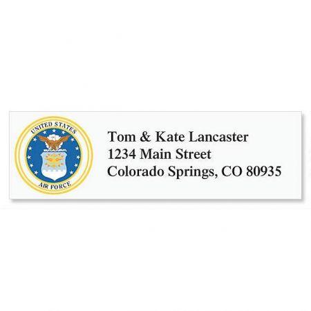Air Force  Classic Address Labels