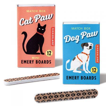 Paw Match Box Emery Boards