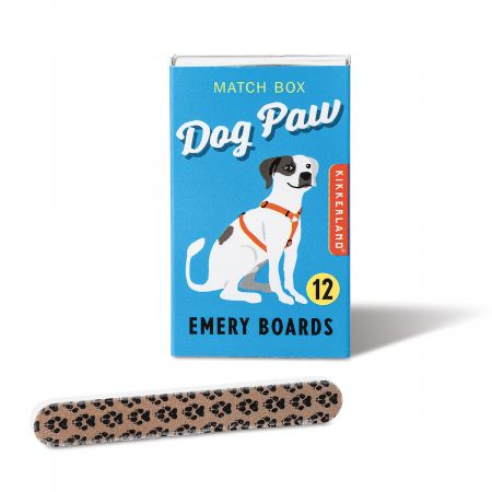 Match Box Emery Boards - Dog Paw