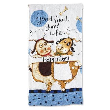 Dogs Kitchen Towel