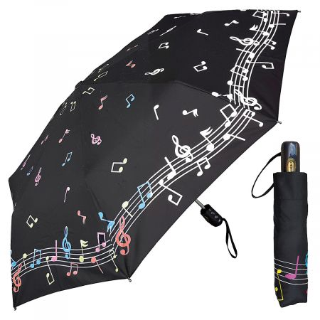 Music Note Color-Changing Umbrella