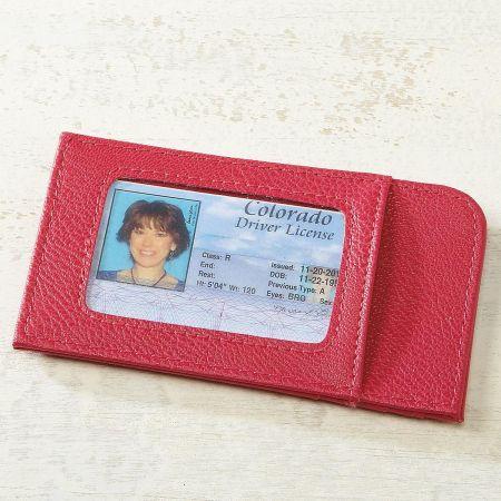 Raspberry Scan-Safe Card Case
