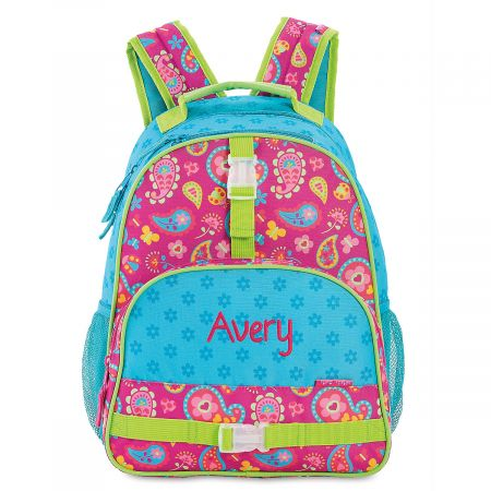 Personalized Paisley Backpack by Stephen Joseph®