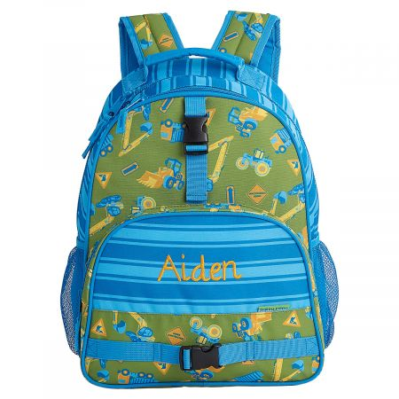 Personalized Construction Backpack by Stephen