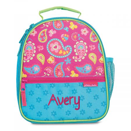 Personalized Paisley Lunch Bag by Stephen Joseph®