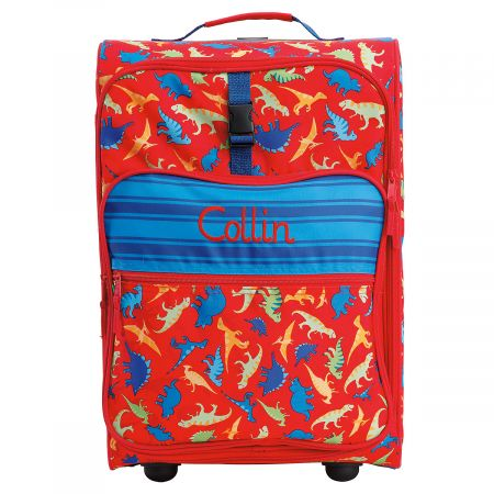 "All-Over Dino Print 22"" Rolling Luggage by Stephen Joseph®"