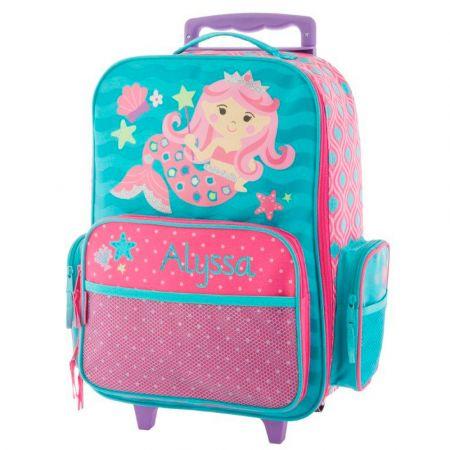 "Mermaid Rolling Luggage 18"" by Stephen Joseph®"