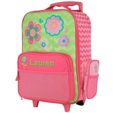 "Flower Rolling Luggage 18"" by Stephen Joseph®"