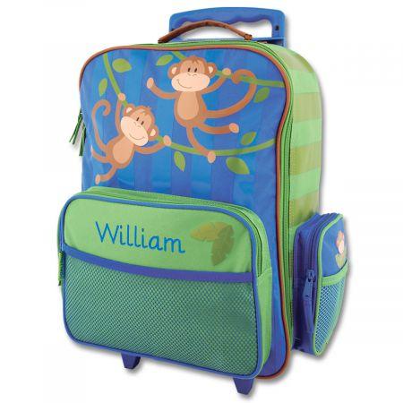 "Monkey Rolling Luggage 18"" by Stephen Joseph®"