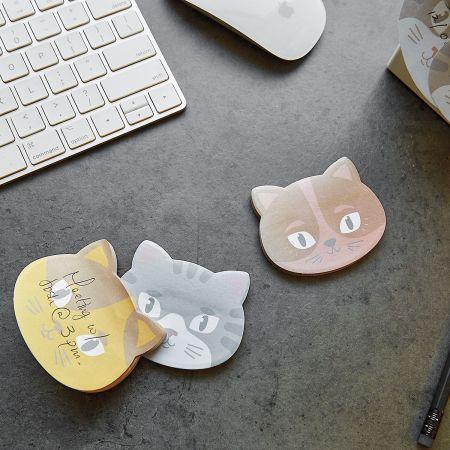 Kitty Cat Sticky Note Pads