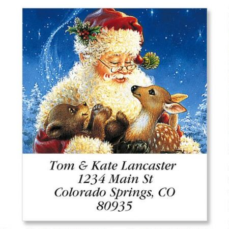 Santa's Friends Holiday Select Address Labels