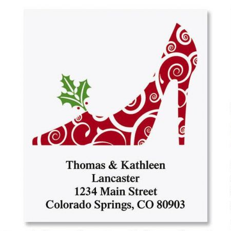 Holiday Heels Select Address Labels