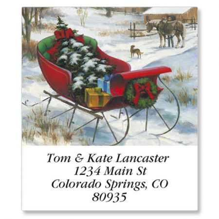 Bringing Home The Tree Select Address Labels